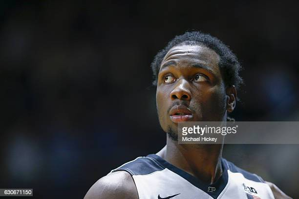 Caleb Swanigan of the Purdue Boilermakers is seen during the game against the Norfolk State Spartans at Mackey Arena on December 21 2016 in West...