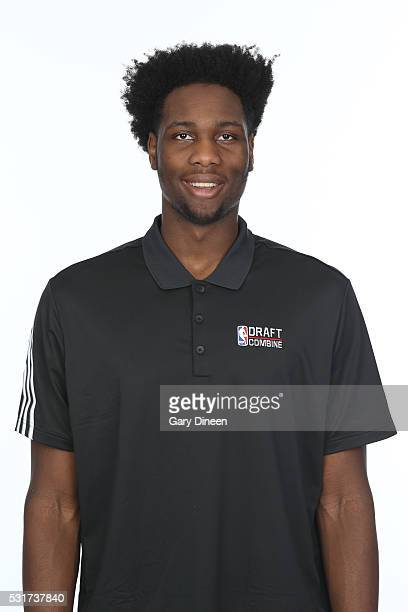 Caleb Swanigan poses for a medical imaging head shot as part of the 2016 NBA Draft Combine on May 14 2016 at Northwestern Memorial Hospital in...