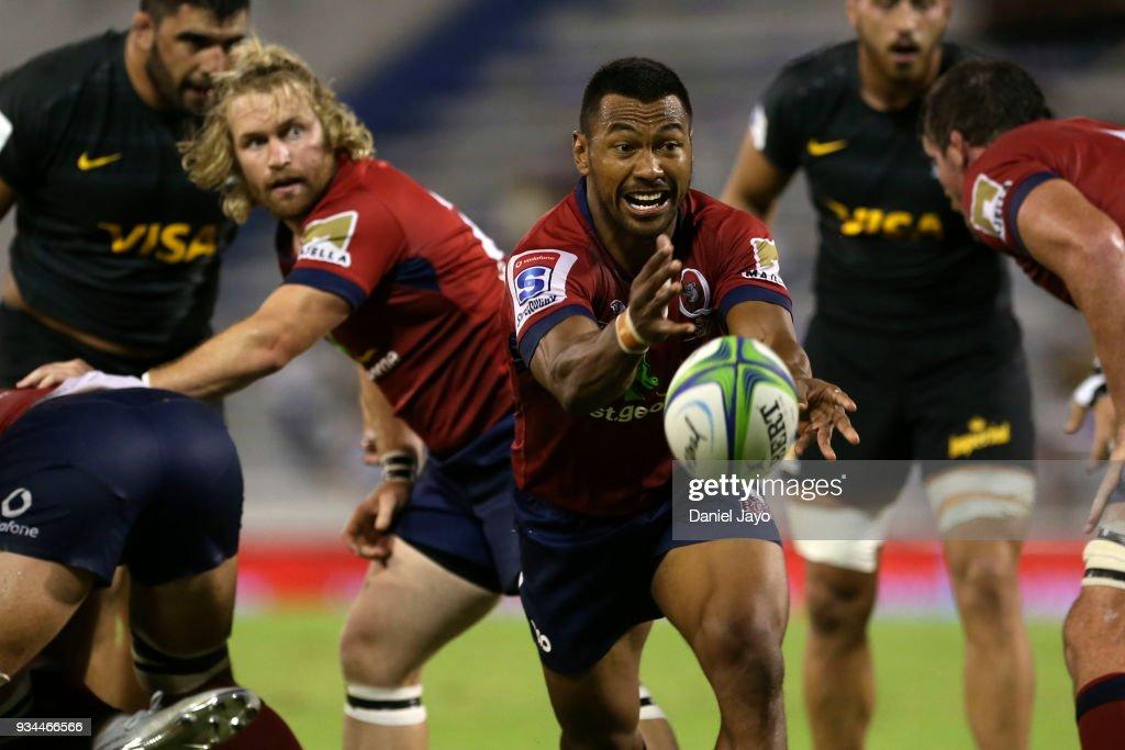 Jaguares v Reds - Super Rugby : News Photo