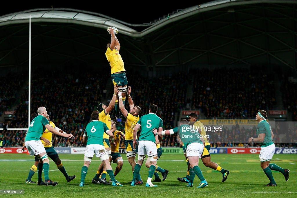 Australia v Ireland - 2nd Test : News Photo