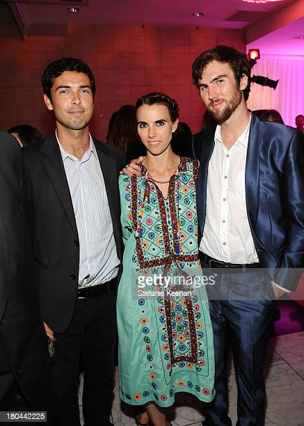 Caleb Wilding Naomi deLuce Wilding and Tarquin Wilding attend Glamorama Fashion in a New Light benefiting AIDS Project Los Angeles presented by...