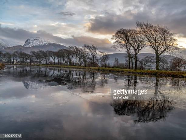 caledonian canal, corpach #1 - moment of silence stock pictures, royalty-free photos & images
