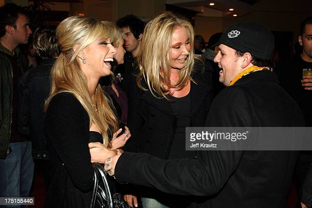 Caleigh Peters Christine ForsythPeters and Benji Madden **exclusive**