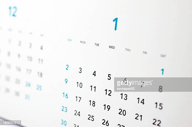 calendar 2010, 2011 - january stock pictures, royalty-free photos & images