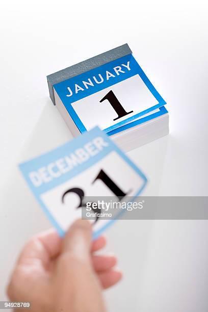 カレンダー、新しい年 2016 年 1 月