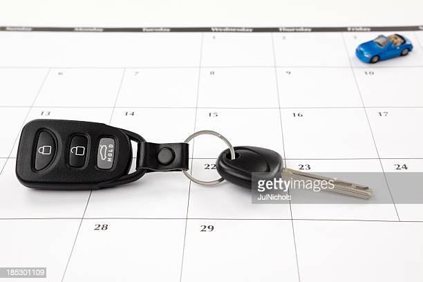 Calendar: New Car or Road Trip