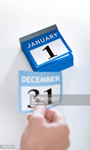 Kalender, neue Jahr 2016 1. Januar