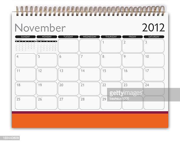 Calendar: November 2012