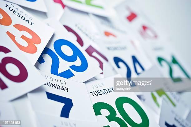 kalender - kalender stock-fotos und bilder