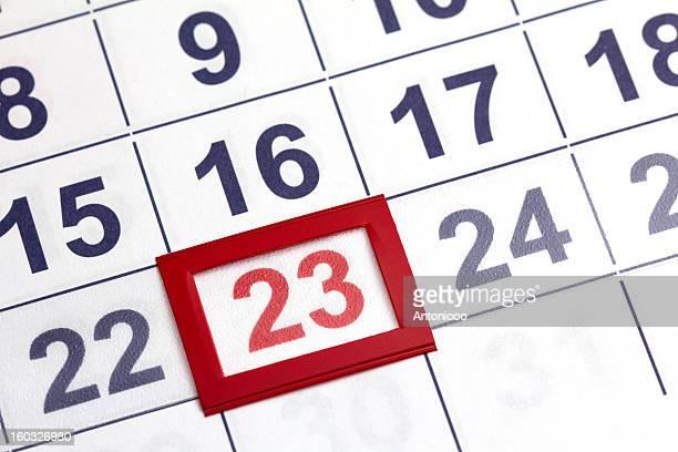 calendário - 20 24 anos - fotografias e filmes do acervo
