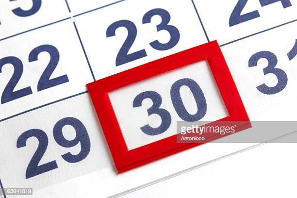 calendar - 30 34 years stock pictures, royalty-free photos & images