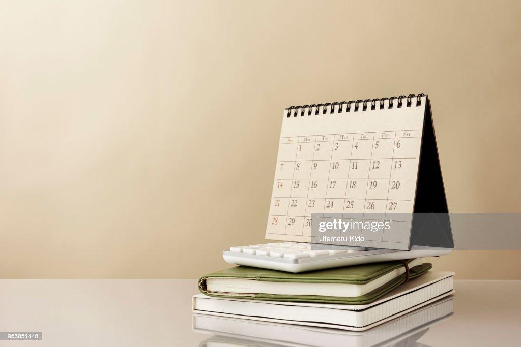 Calendar. : Stock Photo
