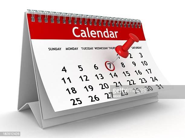 Calendário de planeamento