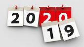 Calendar sheets 2020
