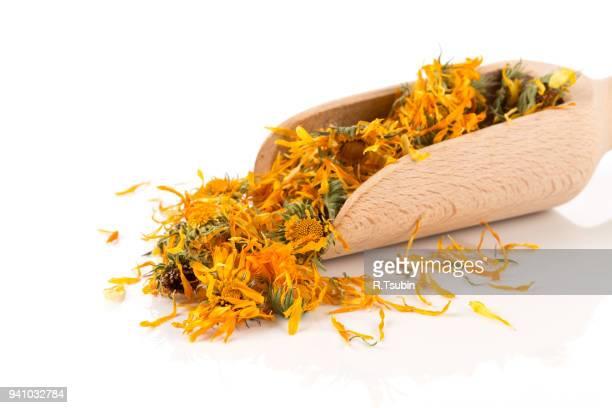 Calendula flower tea