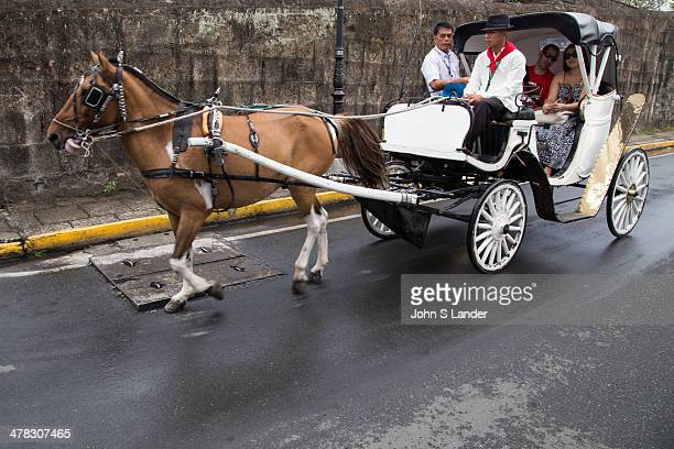 Calesa is a horse drawn carraige in the Philippines. They were introduced to the islands in the 18th century by Spanish colonisers. Today they are...