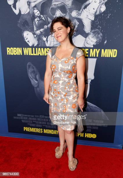 Caley Chase arrives to the Premiere Of HBO's Robin Williams Come Inside My Mind at TCL Chinese 6 Theatres on June 27 2018 in Hollywood California