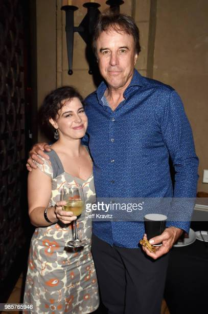 Caley Leigh Chase and Kevin Nealon attend the Los Angeles Premiere of Robin Williams Come Inside My Mind from HBO on June 27 2018 in Hollywood...