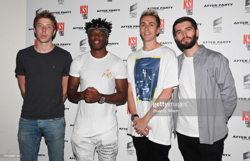 'KSI: Can't Lose' Documentary World Premiere - Arrivals : News Photo