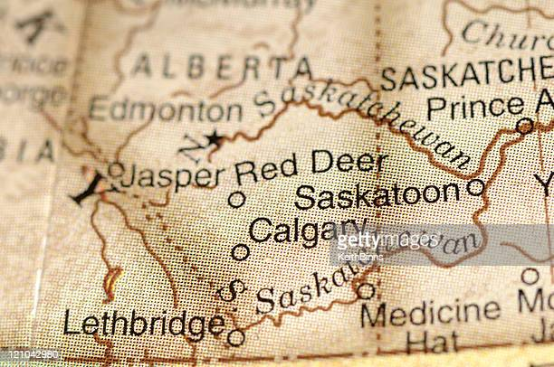 calgary and saskatoon - alberta stock pictures, royalty-free photos & images