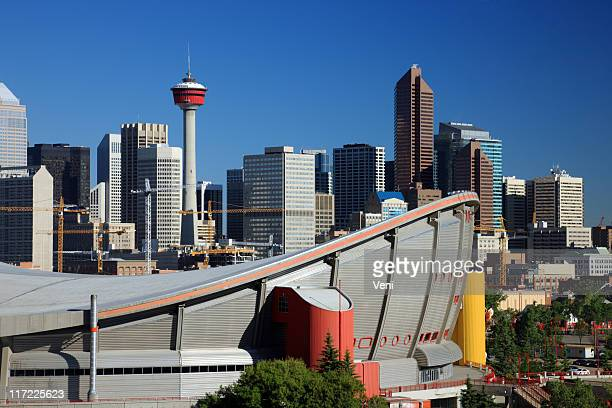calgary, canada - calgary stock pictures, royalty-free photos & images