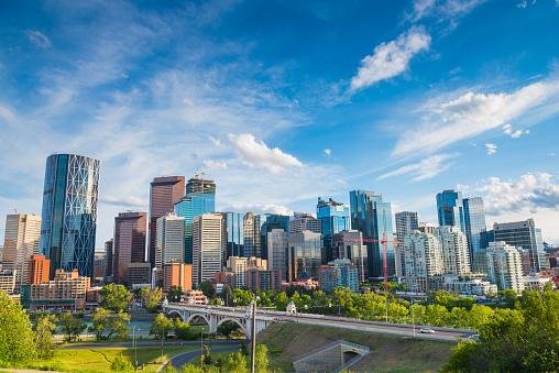 Calgary City Skyline 640905870