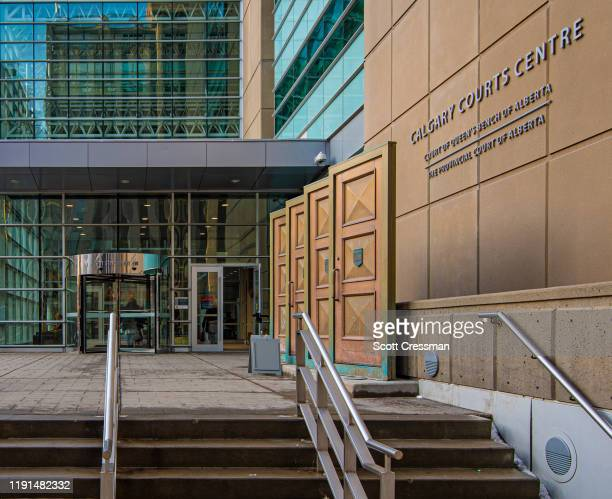 calgary court centre - calgary stock pictures, royalty-free photos & images