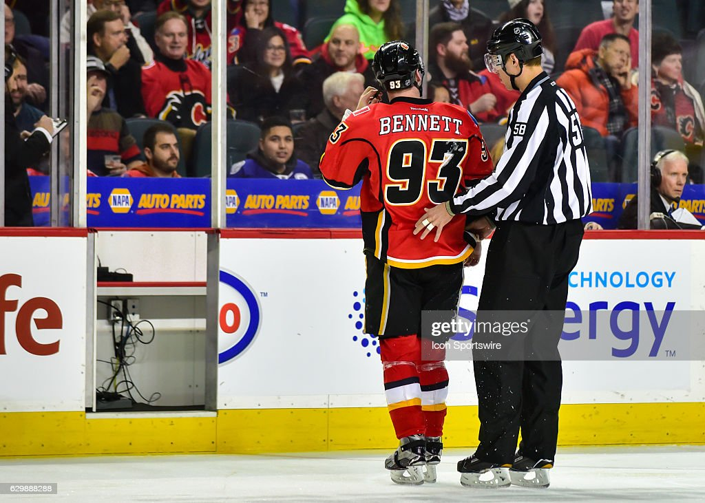 NHL: DEC 14 Lightning at Flames : News Photo