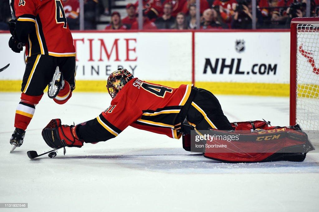 NHL: MAR 21 Senators at Flames : News Photo