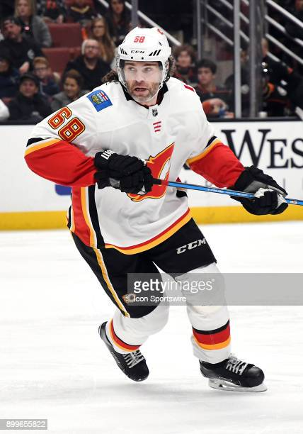 Calgary Flames rightwing Jaromir Jagr in action during the second period of a game against the Anaheim Ducks on December 29 at the Honda Center in...
