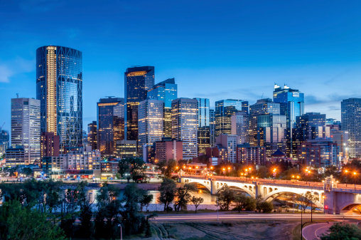 Calgary skyline 481574937