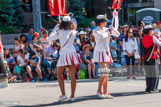 calgary stampede festival - calgary stampede stock pictures, royalty-free photos & images