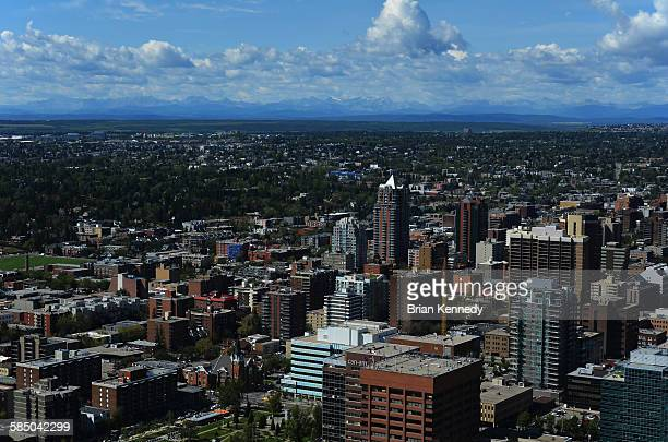 Calgary Summer cityscape