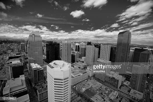 Calgary viewed from above