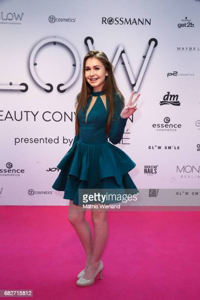 Cali Kassi attends the GLOW The Beauty Convention on May 13 2017 in Duesseldorf Germany