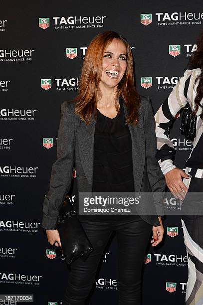 Cali Morales attends the Opening of the TAG Heuer New Boutique Followed By An Evening Celebrating 50 years of Carerra In Pavillon Vendome on November...
