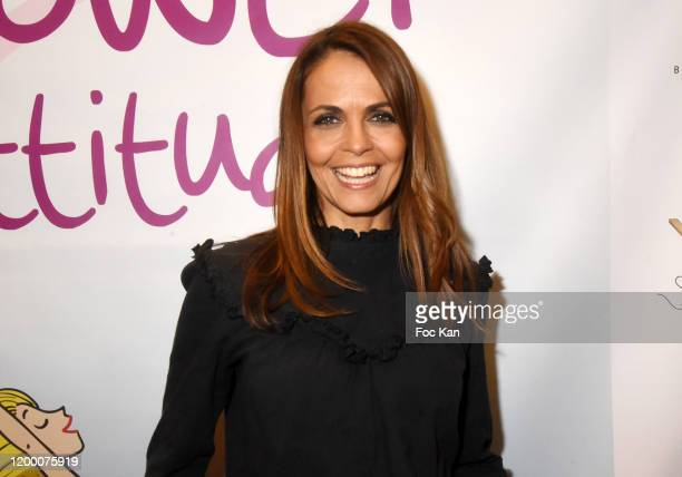 Cali Morales from M6 meteo attend the « Power Attitude » Party at Hotel Marriott on January 16 2020 in Paris France
