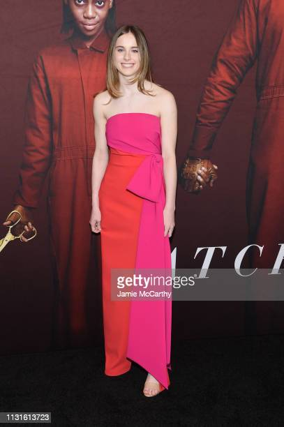 Cali Sheldon attends the US premiere at Museum of Modern Art on March 19 2019 in New York City