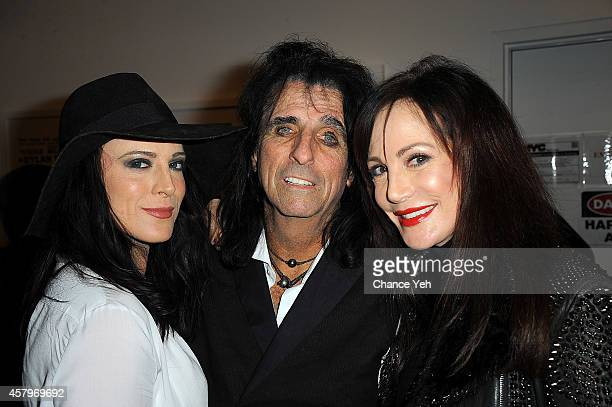 Calico Cooper Alice Cooper Sheryl Cooper attend 92Y Presents 'Super Duper Alice Cooper' Screening And Conversation with Alice Cooper And Anthony...