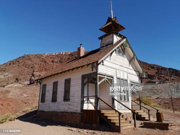calico ghost town old school - saint eloi photos et images de collection