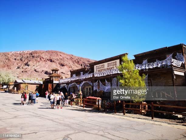 calico ghost town, yermo, california, usa - san bernardino california stock pictures, royalty-free photos & images