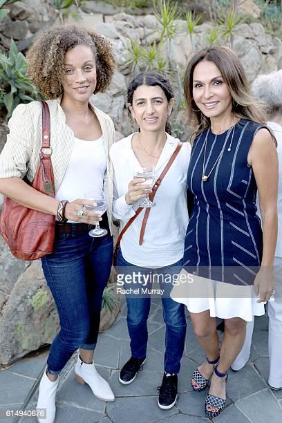 Calida Rawles CoFounder of Visionary Women Angella Nazarian and Toba Khedoori attend Visionary Women Presents Women In The Arts sponsored by David...
