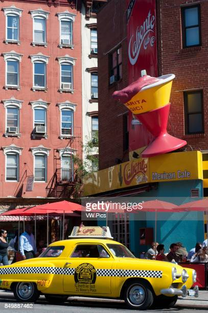 Caliente Cab Restaurant in Greenwich Village 61 7th Avenue from 1200 p