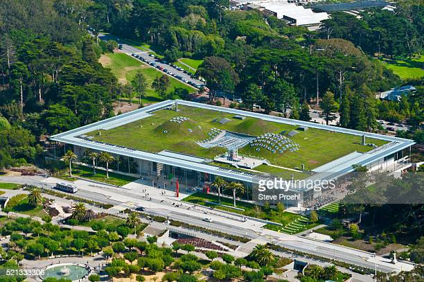 California Academy of Science green roof in Golden Gate Park