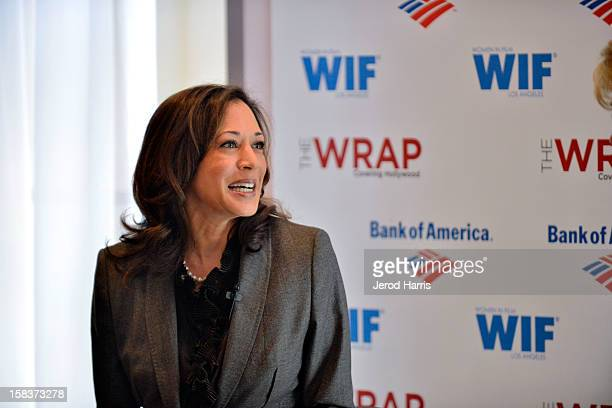 """California Attorney General Kamala Harris participates in TheWrap's """"The Power Of Leadership"""" brunch at Scarpetta on December 13, 2012 in Los..."""