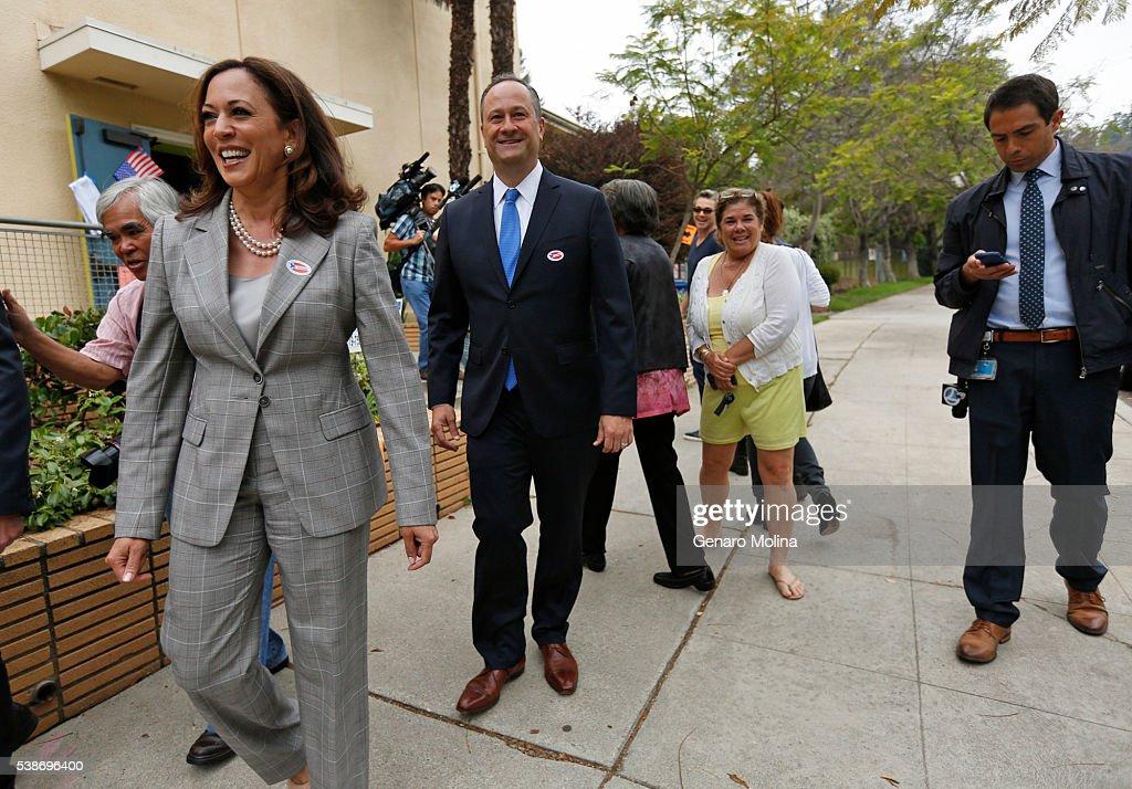 Bwood Ca June 7 2016 California Attorney General La Harris Running