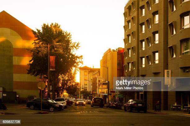 USA, California, Berkeley Downtown
