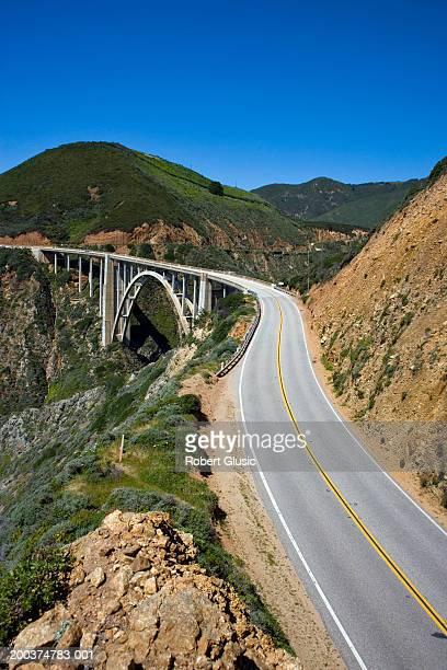 USA, California, Big Sur, Bixby Bridge and Route 1