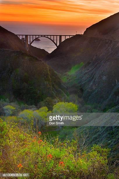 USA, California, Big Sur, Bixby Bridge
