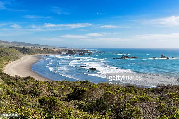 USA, California, Big Sur, Pacific Coast, National Scenic Byway, Beach